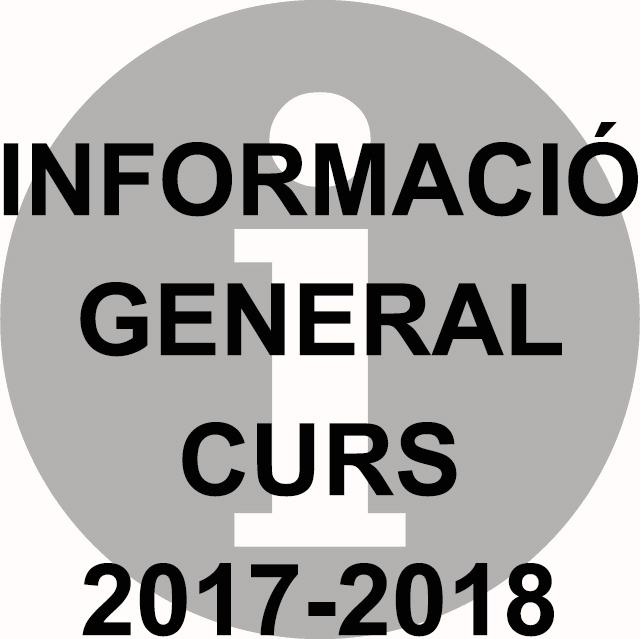 Informació general 2017-2018